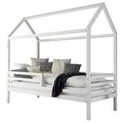 Hausbett Karlson 90x200 cm Weiß - Weiß, MODERN, Holz (90/200cm) - Livetastic