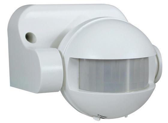 Bewegungsmelder Ap-sta 180 Grad Weiß - Weiß, KONVENTIONELL, Kunststoff (8,7/7,7/9,6cm)