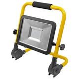 LED-Baustrahler 25082 - Gelb/Schwarz, MODERN, Kunststoff/Metall (31,3/32,3/8cm) - Erba