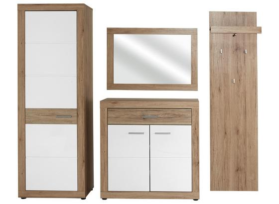 Odporúčaná Kombinácia Skrine Malta - San Remo 1 - farby dubu/biela, Moderný, kompozitné drevo (210/197/36cm)