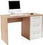 Íróasztal Box - Tölgyfa, modern, Faalapú anyag (123/73/55cm)