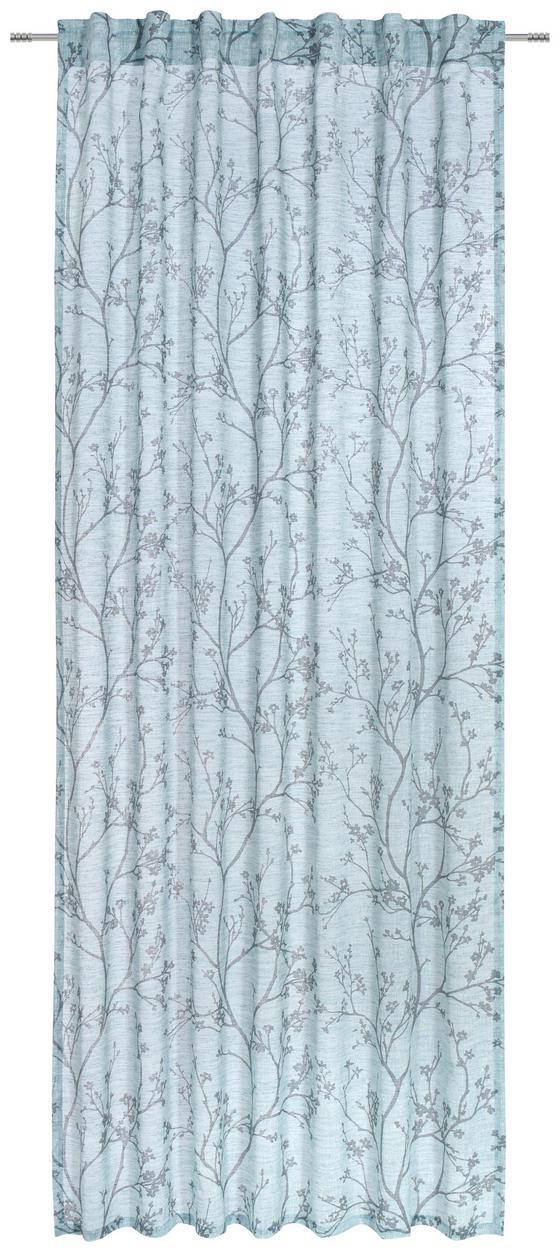 Závěs Hotový Judith - modrá, Romantický / Rustikální, textilie (140/245cm) - Mömax modern living