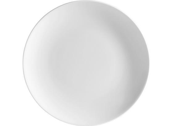 Dessertteller Felicia - Weiß, KONVENTIONELL, Keramik (20cm) - Ombra