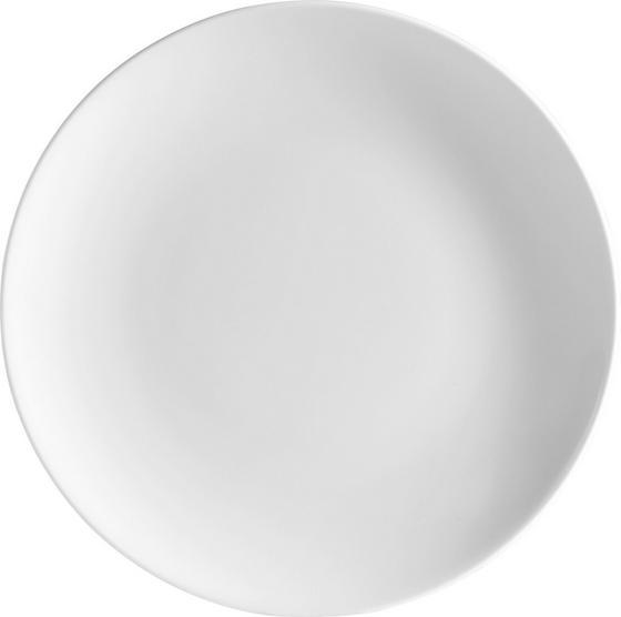 Desszertes Tányér Felicia - fehér, konvencionális, kerámia (20cm) - OMBRA