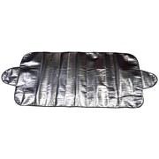 Scheibenabdeckung Aroso - Silberfarben, Textil (85/235cm)
