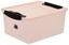 Box mit Deckel Crystal Pink - Pink, KONVENTIONELL, Kunststoff (38/29/17cm) - Plast 1