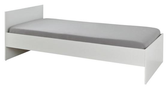 Postel Mili - bílá, Lifestyle, dřevo (94/41-70,5/204cm)