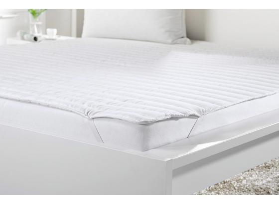 Chránič Matrace Klaus, 180x200cm, Bílá - bílá, textil (180/200cm) - Mömax modern living