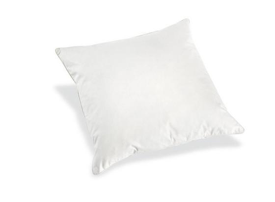 Polštář S Výplní Tim 100140 -ext- - bílá, textil (50/50cm)