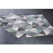 38da15c55 Koberec Tkaný Rom 2 - šedá/modrá, textilie (120/170cm) -