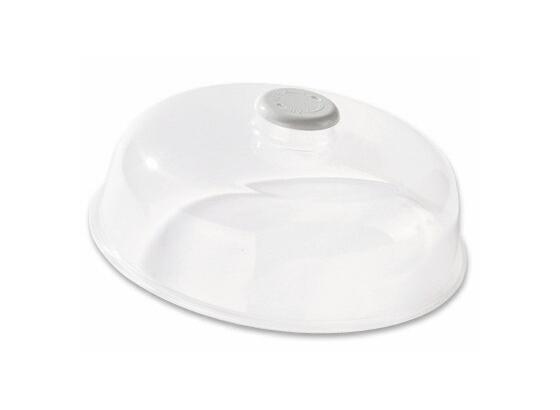 Fröccsenésgátló Mikrohullámú Sütőhöz - Átlátszó, konvencionális, Műanyag (24.5/9.5cm)