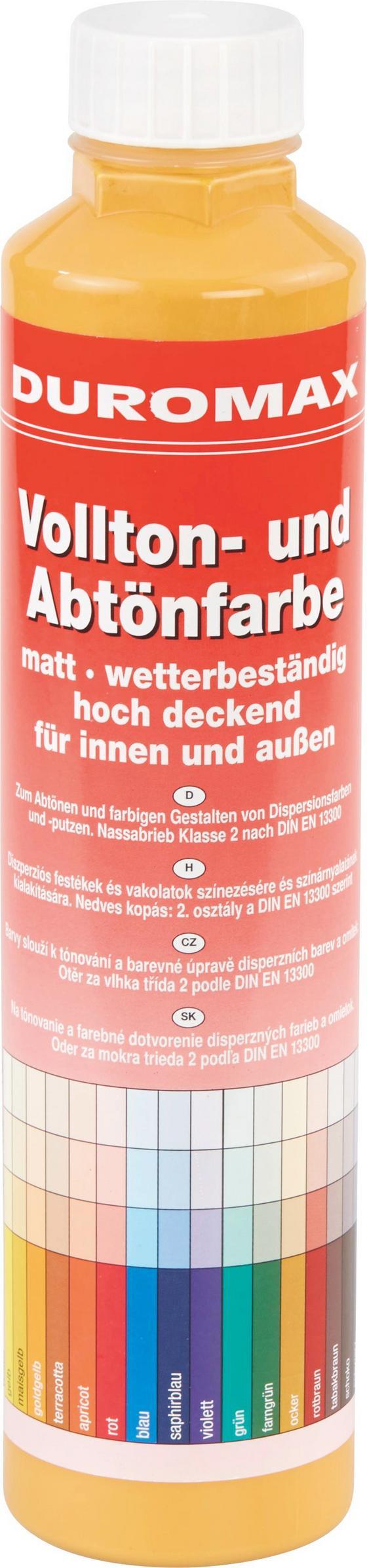 Abtönfarbe Goldgelb Matt - Goldfarben, KONVENTIONELL (0,75l)