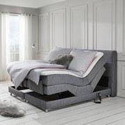 Boxspring Postel Mariella - šedá, Moderní, dřevo/textil (210/188/118cm) - Mömax modern living