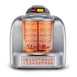 Soundsystem Jukebox 55 - Grau, Basics, Kunststoff (30,5/29/16cm) - Silva Schneider