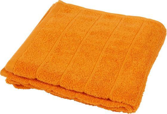 Törölköző Lilly 1 - terrakotta, konvencionális, textil (50/100cm)