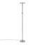 Led Stojací Lampa Hans - barvy niklu, Konvenční, kov (30/30/181cm)