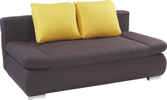 Sofa Cannes - Grau, MODERN, Textil (202/97/71cm)