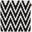 Povlak Na Polštář Mary Stick - černá, Moderní, textil (45/45cm) - Mömax modern living