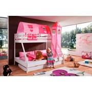 Betttasche Stofftasche - Pink/Rosa, Design, Textil (50/28/2cm)
