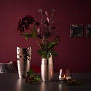 Dekozweig Eukalyptus - Aubergine, MODERN, Kunststoff (73cm)