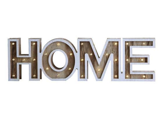 Dekorační Led Svítidlo Home - Romantický / Rustikální, dřevo (38/3,2/11cm)