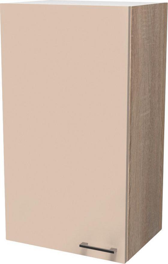 Konyha Felsőszekrény Nepal - Bézs, modern, Faalapú anyag (50/89/32cm)