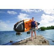 Kajak Hydro Force Lite Rapid für 2 Personen 321x88cm 65077 - Schwarz/Orange, MODERN, Kunststoff/Metall (88/321cm) - Bestway