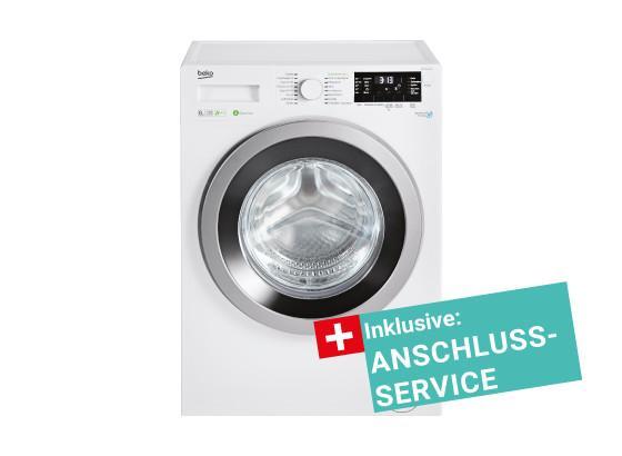 Waschmaschine WMY 81483 HPT inkl. Service - Weiß, KONVENTIONELL, Metall (60,0/84,0/54,0cm) - Beko