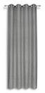 Ösenvorhang Donatella - Silberfarben, MODERN, Textil (140/245cm) - Luca Bessoni