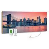 Infrarot-Heizpaneel City Sunset B: 40 cm - MODERN, Stein (40/100/2cm)