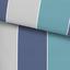 Bettwäsche Kajla - Blau, MODERN, Textil - Luca Bessoni