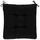 Sedák Elli -top- - černá, textil (40/40/7cm) - Based