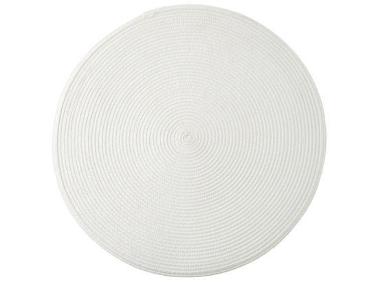 Prostírání Billy -ext- - bílá, umělá hmota (38cm) - Mömax modern living
