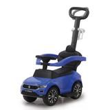 Rutschfahrzeug Vw T-Roc 3in1 Blau - Blau/Chromfarben, Basics, Kunststoff (84/40/87cm)