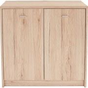 Komoda 4-you Yuk03 - barvy dubu, Moderní, dřevěný materiál (74/85,4/34,6cm)