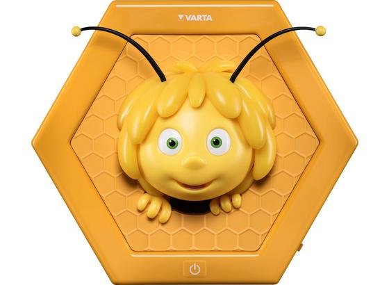 Nachtlicht Biene Maja - Gelb, Basics, Kunststoff (25,2/28,9/8,3cm)