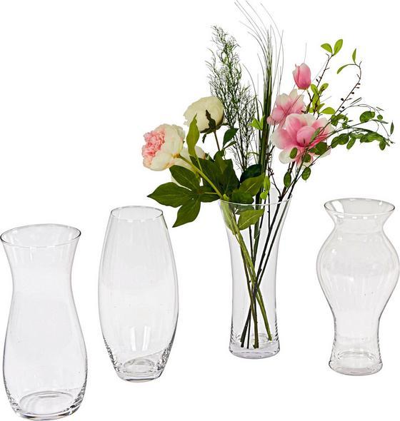Váza Jolina - Átlátszó, konvencionális, Üveg (17/37cm) - OMBRA