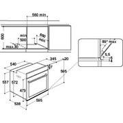 Einbaubackofen AKP9 785 IX - Edelstahlfarben/Schwarz, Basics, Glas/Kunststoff (59,5/59,5/56,4cm) - Whirlpool
