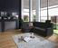 Wohnlandschaft in L-Form Sonoma 176x246 cm - Chromfarben/Schwarz, MODERN, Textil (176/246cm) - Ombra