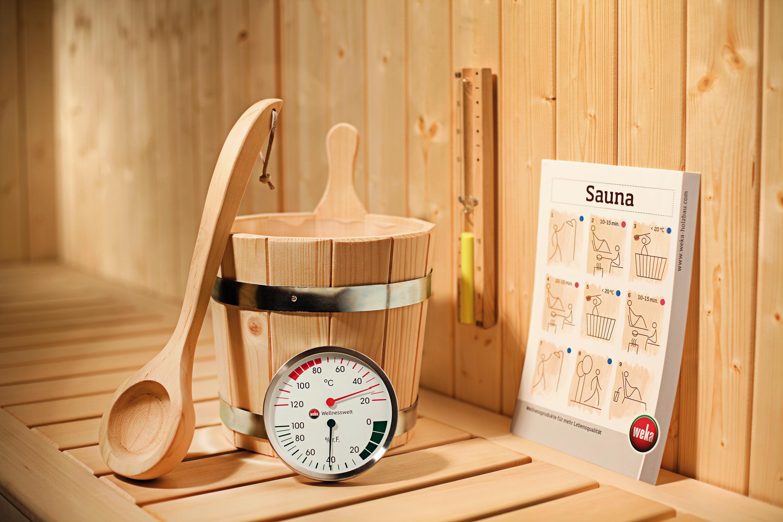 Sauna-Set mit 5 Teilen