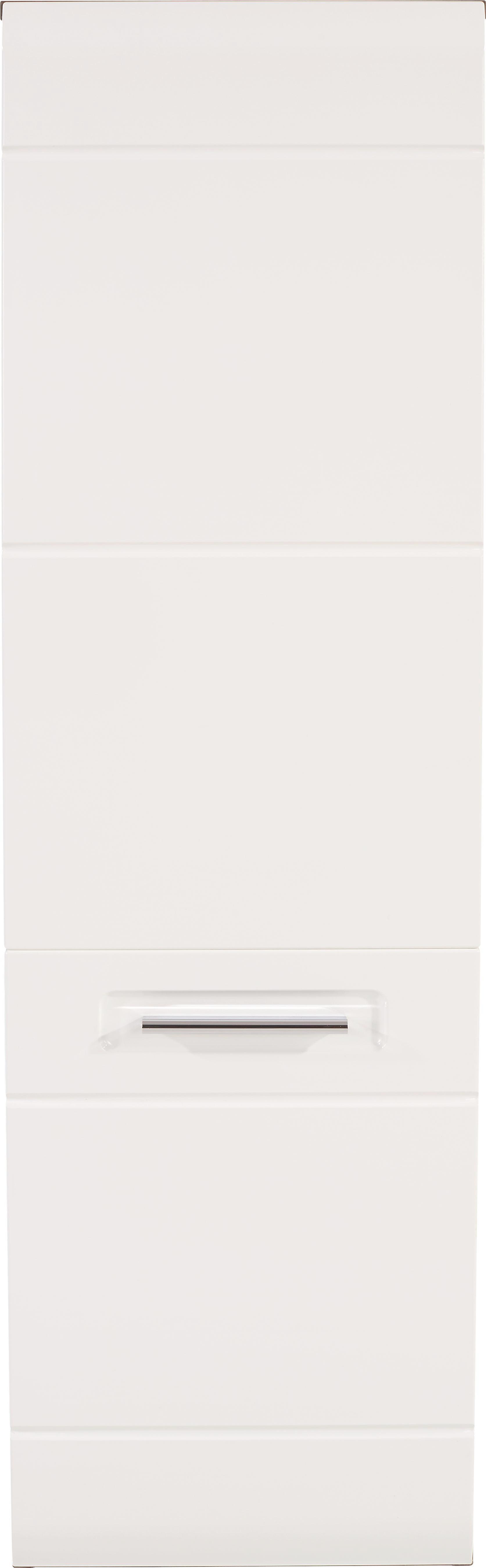 Midi Szekrény Avensis - tölgy színű/fehér, modern, faanyagok (35/128,5/33cm) - LUCA BESSONI