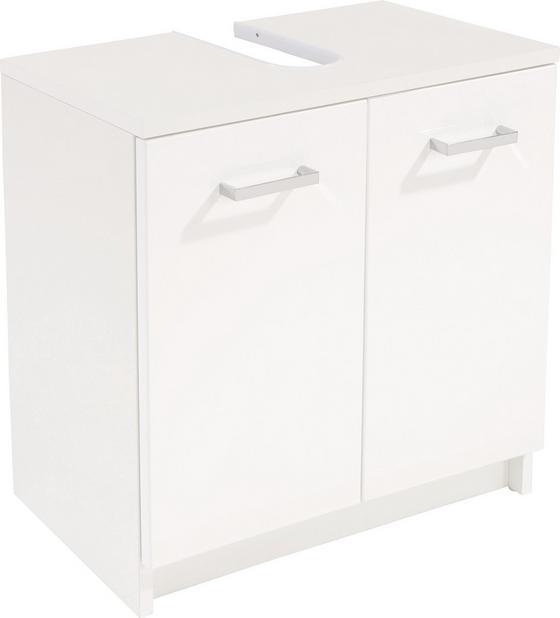 Mosdó Alsószerkény Fiola - fehér, konvencionális, faanyagok (55/52,2/30cm)