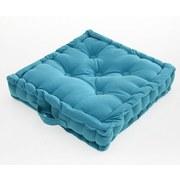 Sedák Na Stoličku Ninix - petrolejová, textil (40/40/10cm) - Mömax modern living