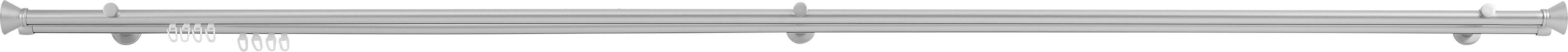 Rúdkarnis Ibiza - ezüst színű, konvencionális, fém (210/4.5/12cm)