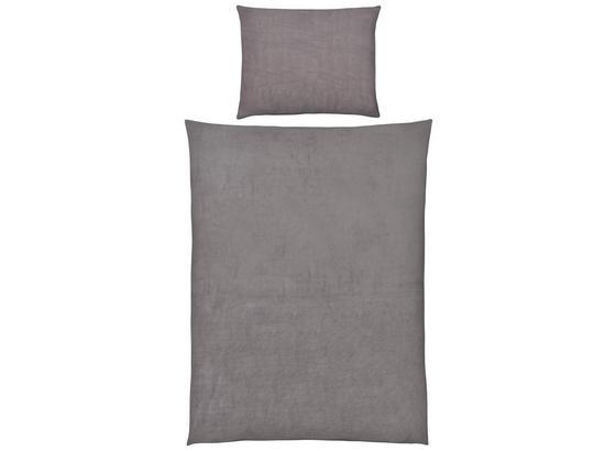 Povlečení Cashmere Wende - šedá, Konvenční, textil (140/200cm) - Mömax modern living