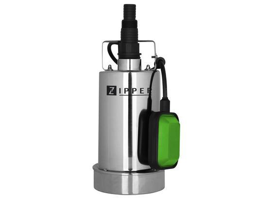 Tauchpumpe Zi-Cwp750n - Silberfarben/Schwarz, MODERN, Kunststoff/Metall - Zipper