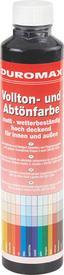 Abtönfarbe Schwarz Matt - KONVENTIONELL (0,75l)