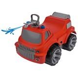 Rutschfahrzeug Big Power Worker Firetruck - Rot/Schwarz, Basics, Kunststoff (32/46,5/29cm) - BIG