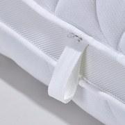 Taschenfederkernmatr. Toppio 140x200cm H2/H3 - Weiß, Textil (140/200cm) - Primatex