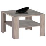 Couchtisch Holz mit Ablagefach Mini Joker, Eiche - Eichefarben, Design, Holzwerkstoff (70/70/44cm) - Carryhome